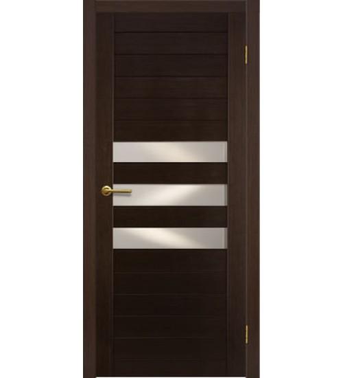 Дверь Руно 3 стекла шпон Матадор
